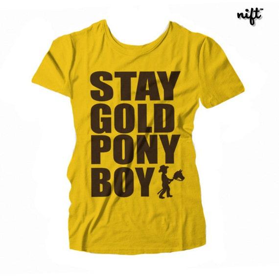 Stay Gold Ponyboy Unisex Baseball 3/4 Sleeve T-shirt OZw5t