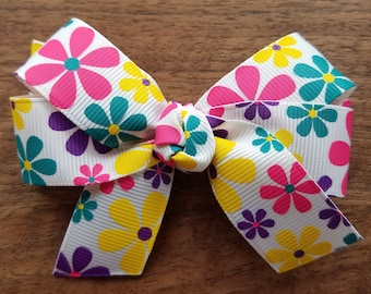 Bright Flower Bow