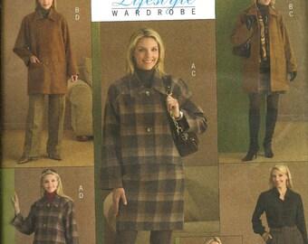 Butterick 5103 Misses Lifestyle Winter Wardrobe Pattern, Size 8-14, UNCUT