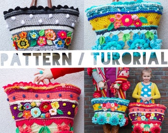 USA/UK Pattern/Tutorial how to make a #polleviebag