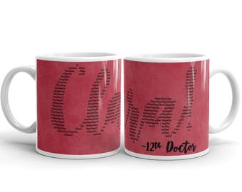 """Now That's A Catchphrase - Doctor Who """"CLARA!"""" Mug"""