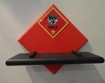 Cub Scout Wolf Cub Pinewood Derby Display