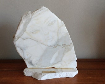 Abstract Expressionist Marble Sculpture by Susan Wohl