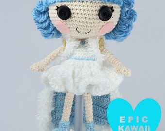PATTERN: Ivory Crochet Amigurumi Doll