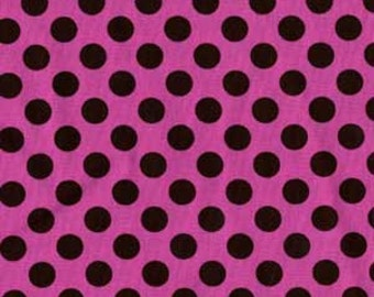 Michael Miller Ta Dot Orchid Fabric - Half Yard