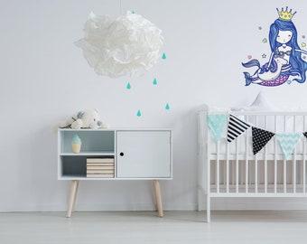 Mermaid & Unicorn Wall Sticker