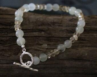 NEW Jade & Citrine Bracelet