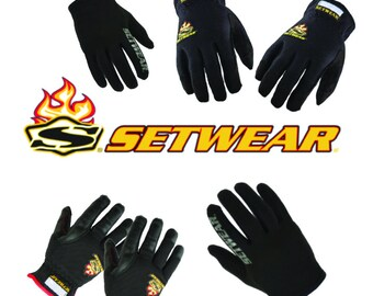 SET WEAR Professional Gloves and Grip On-Set