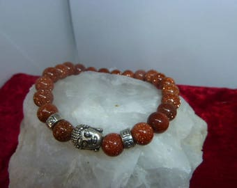 Genuine gems SUNSTONE bracelet
