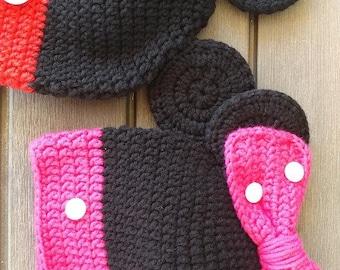 Disney inspired crochet hat pattern