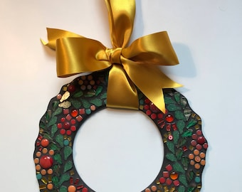 Amber and Gold Wreath