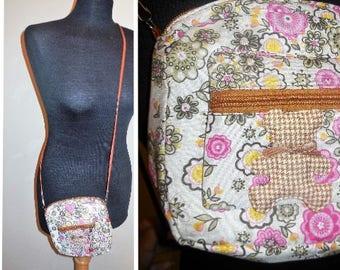 Vintage Purse Crossbody Bag Floral Fabric Fashion Accessories Shoulder Bag Handbag Pocketbook Purses Girls