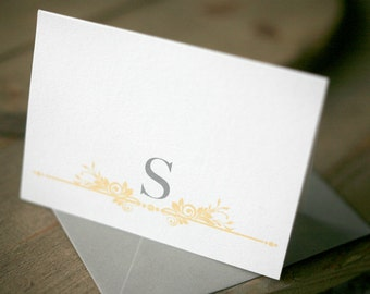 Personalized Stationery - Garden Gate Notes