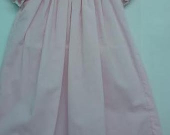 Smocked Daygown Pink