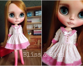 "Blythe deluxe dress ""Candy Floss"""
