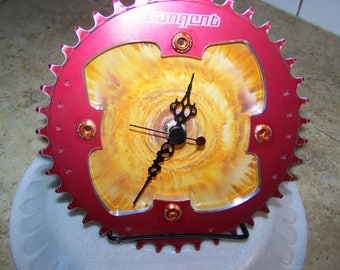 Chainring Desk Clock