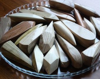 22 Wooden Gems, Gloss Finish