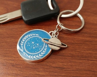 Star Trek- United Federation of Planets Keychain