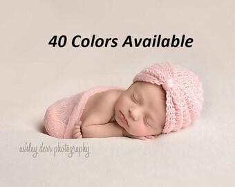 Baby Girl Hat, Crochet Turban Hat, Toddler Girl Hat, Crochet Baby Hat, Newborn Hat, Newborn Photo Prop, Baby Shower Gift, Children's Hat