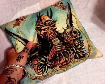 GWAR Oderus urungus pillow for your filthy head - gore metal hail