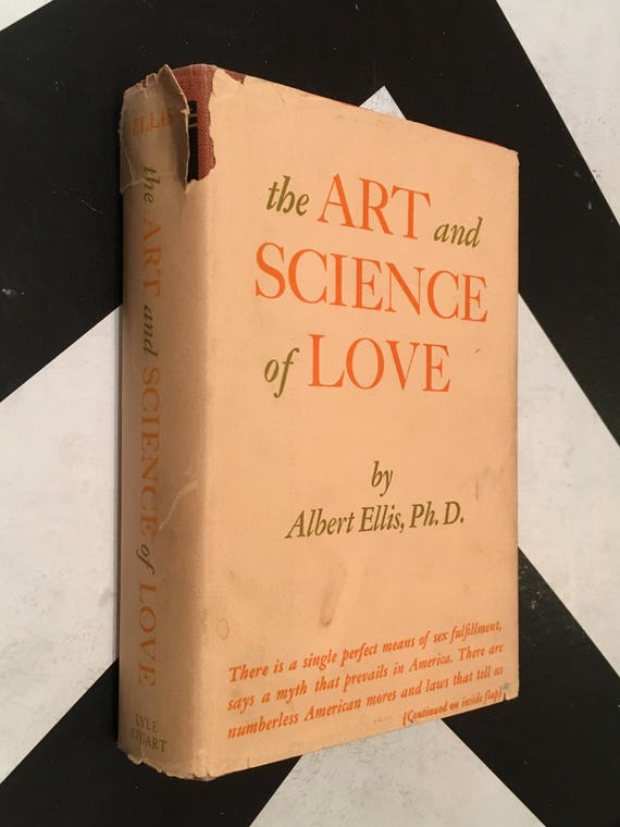 The Art and Science of Love by Albert Ellis, Ph.D. (Hardcover, 1960) vintage book