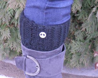 Whats this? Nightmare Before Christmas boot cuffs