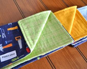 Handyman Tool Burp Cloths