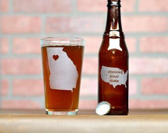 Beer Gift. Beer Glass. Custom Pint Glass - Custom Beer Glass - Beer Glass - Pint Glass - Beer Glasses - Groomsmen Gift - Beer Gift