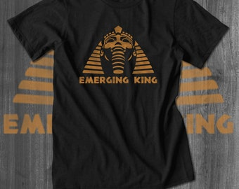Emerging King Tut Sphinx tshirts Plus Sizes Afrocentric Clothing African Clothing African Attire African Wear African Shirt custom tees
