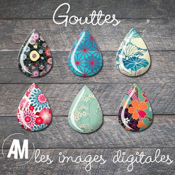 48 images digitales goutte japon asie motif japonais - Motif oriental a imprimer ...