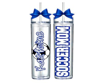Soccer Mom Gift, Sports Bottles, Personalized Water Bottle, Soccer Coach, Personalized Soccer Gifts, Soccer Bottle, Christmas Soccer Gift