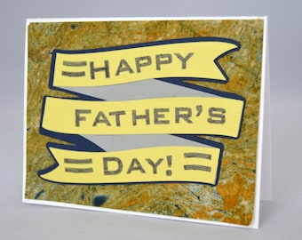 Banner Fathers Day Card