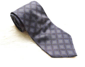DKNY Exclusive Tie with Geomatric Design, Authentic DKNY and Excellent Conditions