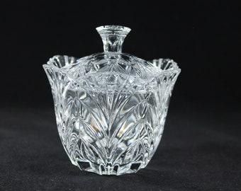 Crystal Covered Candy Dish / Trinket Jar