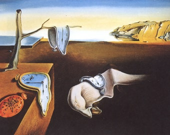 Salvador Dali reproduction oil paintings on canvas, Persistence of Memory, made to order, 100% money back guarantee