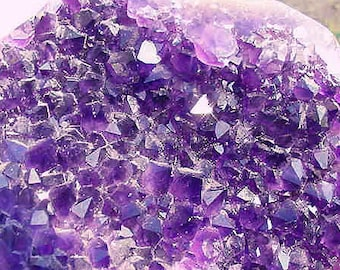 AAA Quality 2 pound Amethyst Crystal Point Cluster cut base polished sides, Uraguay Amethyst,Lapidary,Collectible 9TU17
