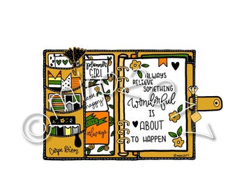 Yellow Planner Printable