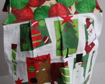 Christmas Presents & Balls Bodice Bib