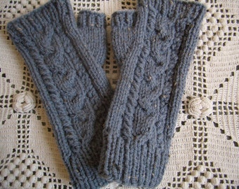 knit fingerless gloves cable Fingerless gloves hand Warmers knit