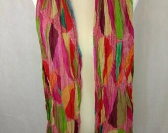 boho geometric scarf