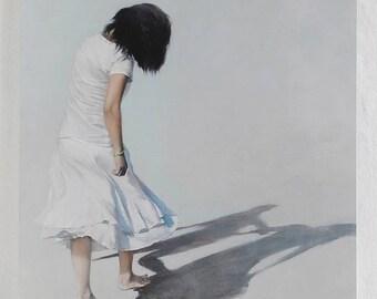Permanent art calendar painting Gan-Erden Tsend