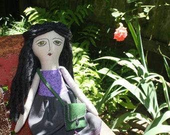Handmade Heirloom Cloth Doll