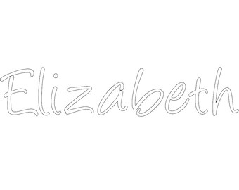 Custom Name - Font 1