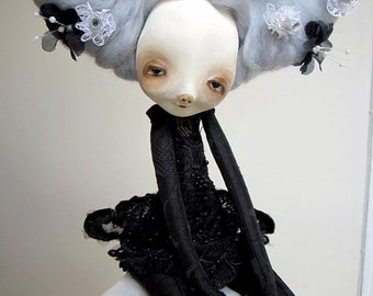Madam Camille  paper clay art doll