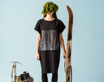 Night woods dress