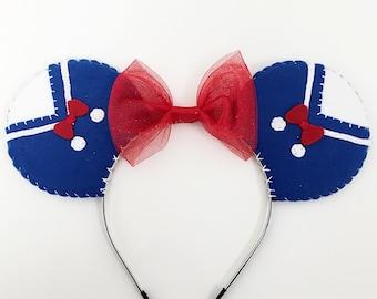 Disney Donald Duck Themed Costume Minnie Mouse Ears Headband