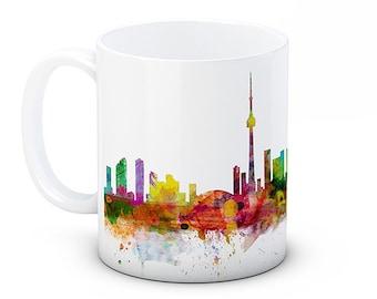 Toronto Skyline Ontario Canada Cityscape - High Quality Ceramic Coffee Mug