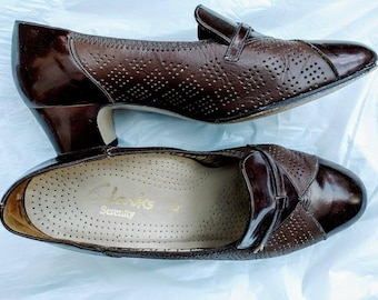 1970's does 1940's Brogue Brown Shoe