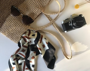 Slouchy 90's Style Boho Market Bag