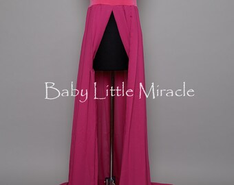Jessica pink Chiffon Maternity Dress,Maternity Gown,Maternity Photo Props,Maternity Gown Props, baby shower